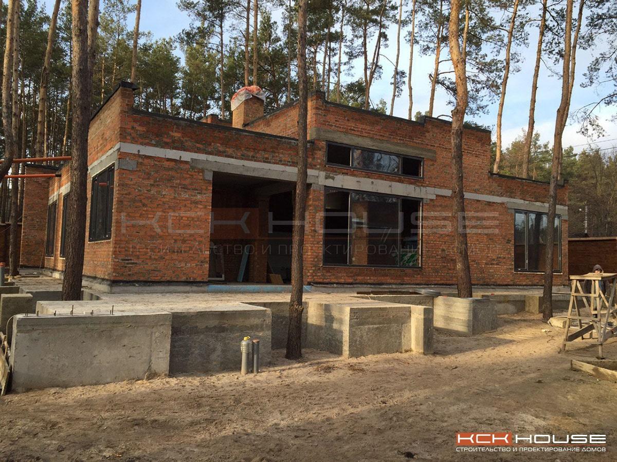 строительство дома в ирпене
