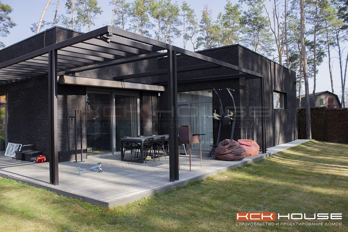 строительство дома из газоблока в Ирпене