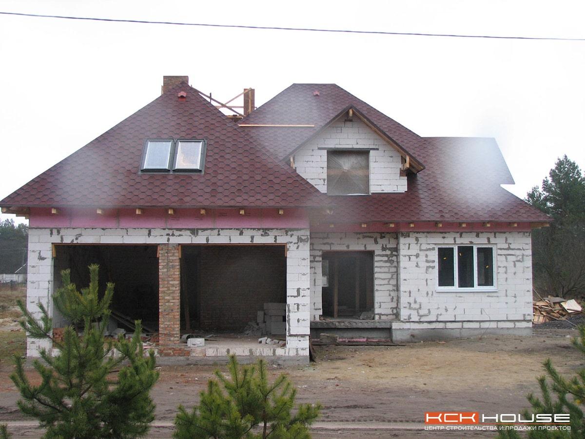 дом из газоблока в с. Высшая Дубечня