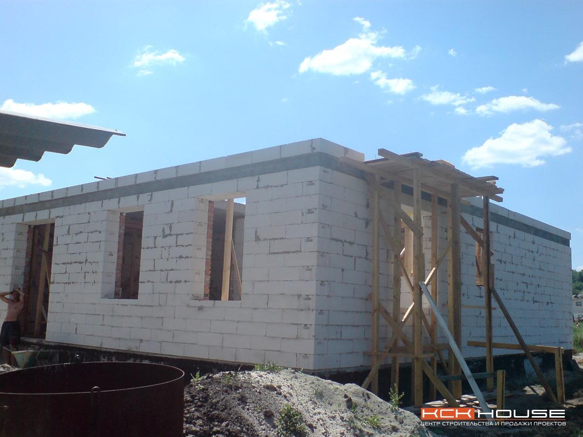 строительство жилого дома с. Новые Безрадичи