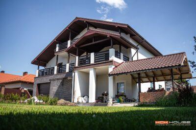строительство дома под Киевом