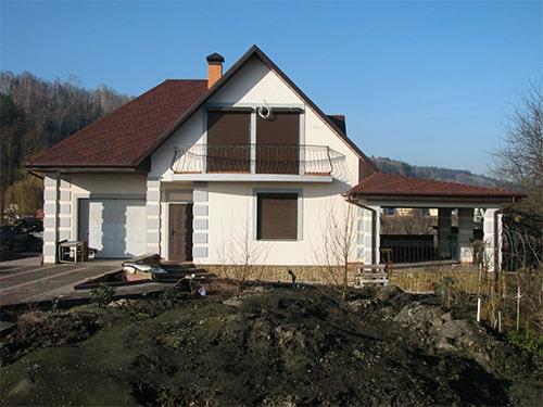 строительство дома в Новых Безрадичах