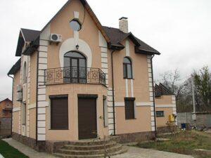 строительство частного дома 210 м2