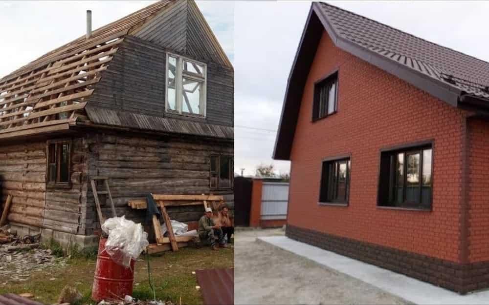 Реконструкция домов и зданий