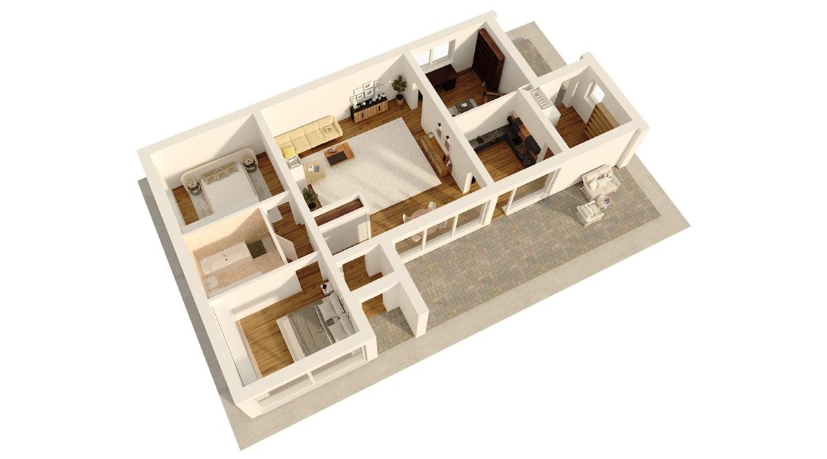 MODERNISM HOUSE (К1050-1), 115 м2