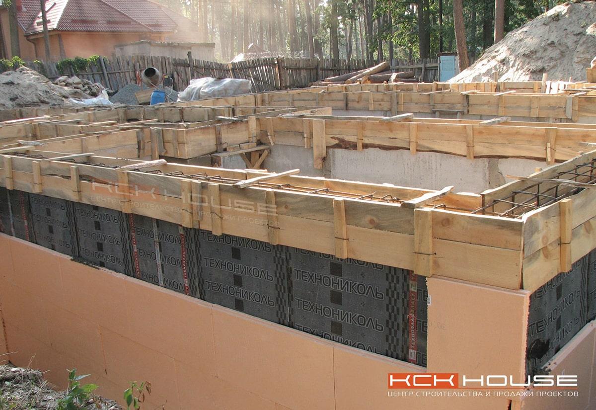 Строительство фундамента для дома - Ирпень