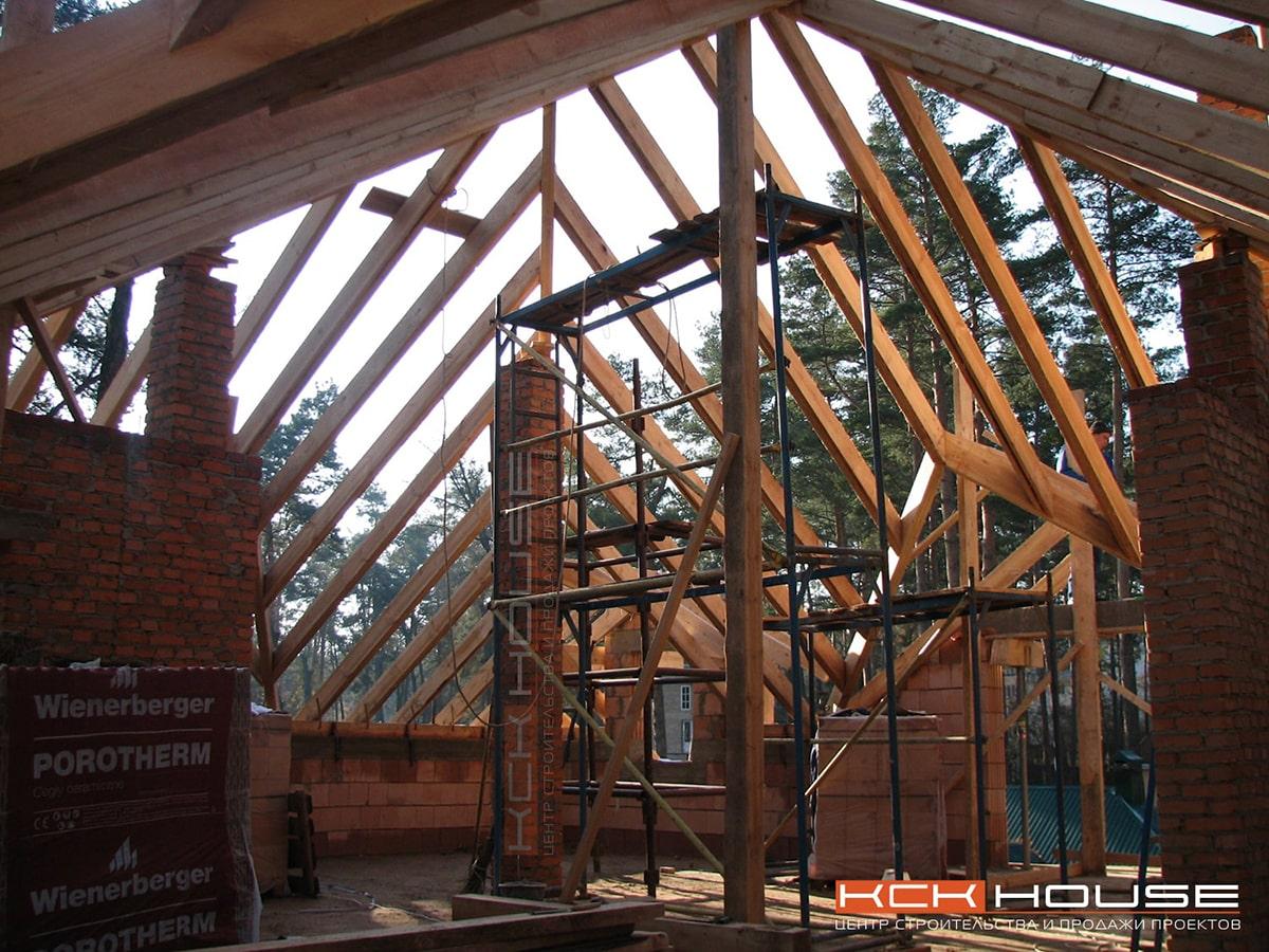 стропильная крыша / фото стропильной крыши - Ирпень