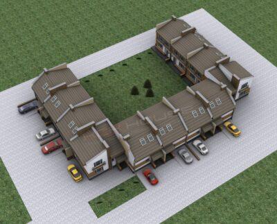 проектирование и строительство таунхаусов