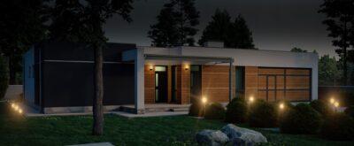 строительство современных домов с плоской кровлей