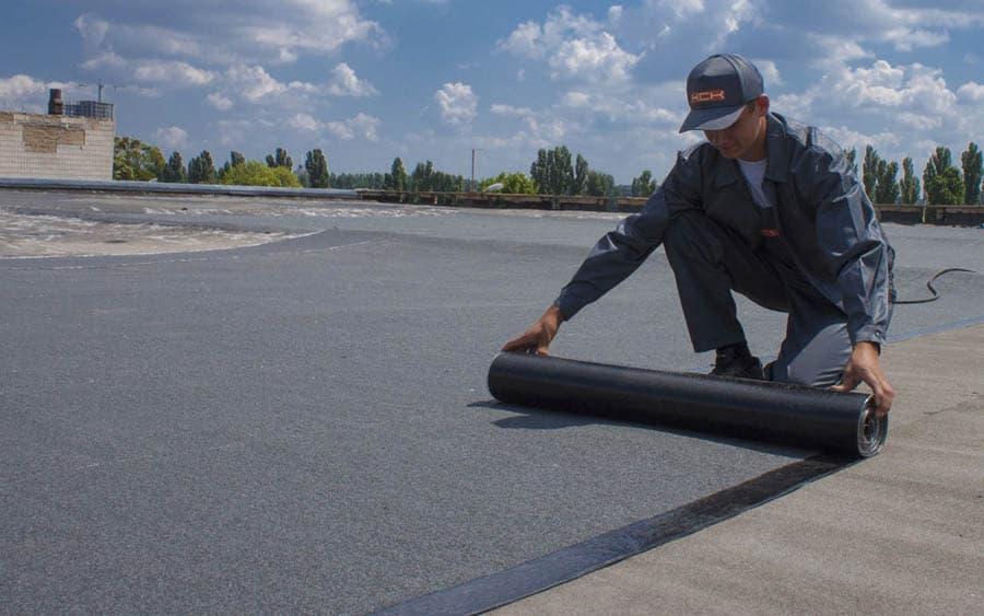 Гідроізоляція плоскої покрівлі – принцип робіт