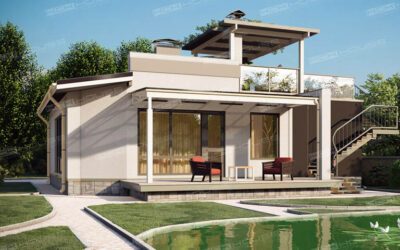 Дома в стиле хай-тек: особенности стиля хай-тек